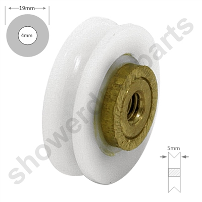 Replacement Shower Roor Rollers Wheels