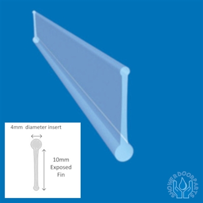 Shower Seal Insert Fold